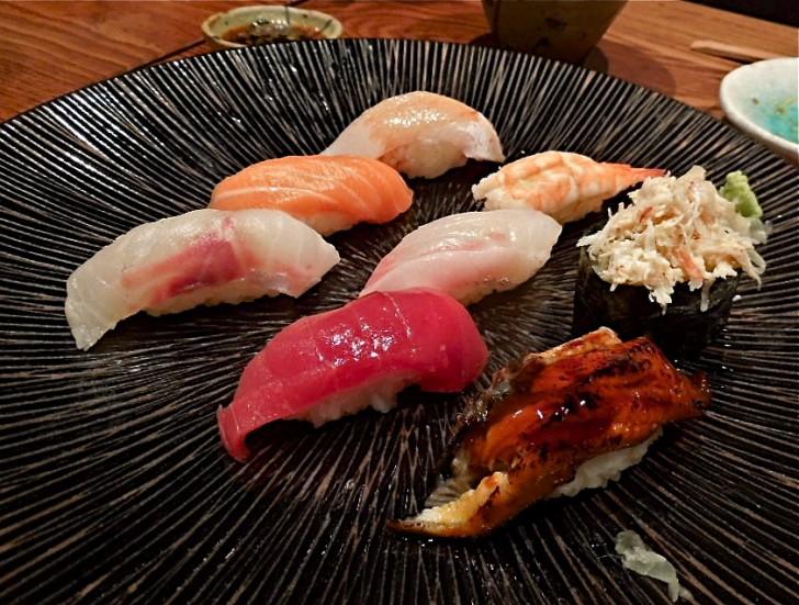 寿司もイケる♪