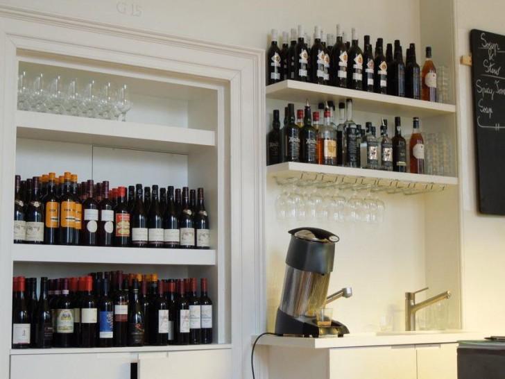 ワインやシェリーも充実