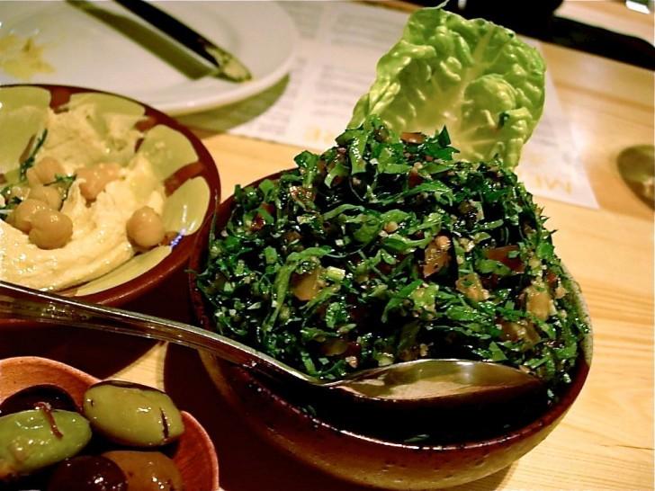 パセリのサラダ、タブレ