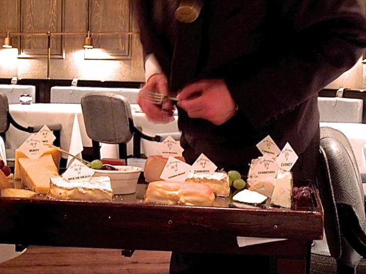 フレンチならではのチーズの愉しみ
