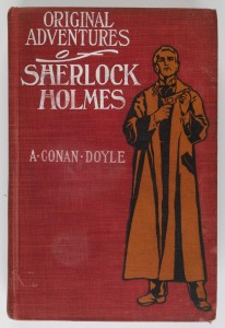 Sherlock Holmes cover 1903 first edition published New York © Museum of London