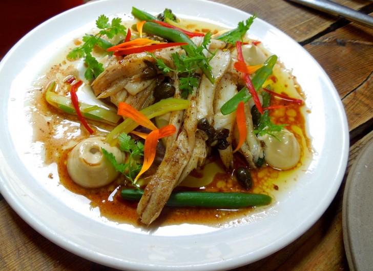 白身魚と野菜のびっくりするくらい美味しい取り合わせ♪