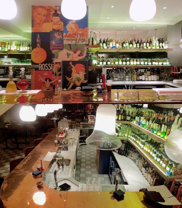 イタリアのハーブ酒、ベルモットがズラリ! バーで一杯、リラックスしたい♪