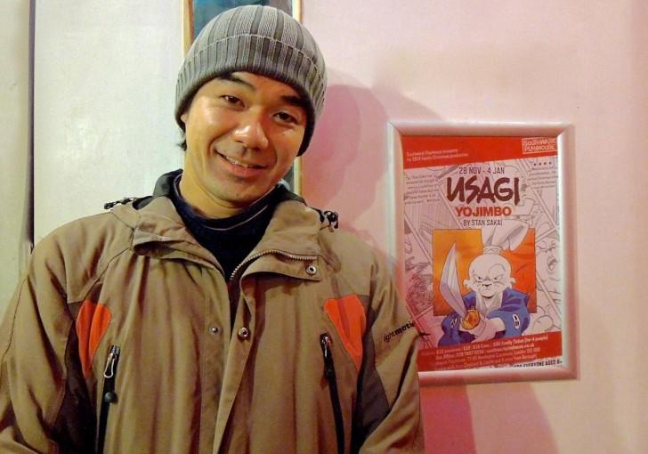 自身のお子さんも見に来られて楽しまれたという田渕大さん