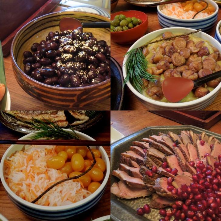 上品に煮含められた絶品黒豆も栗金団も金柑も鴨も蓮根も美味しすぎる