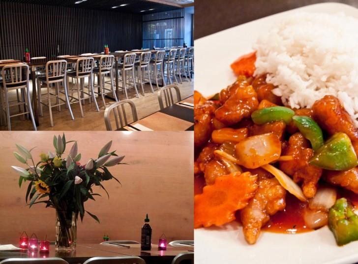 ベトナム料理にはシンプルな空間が似合う