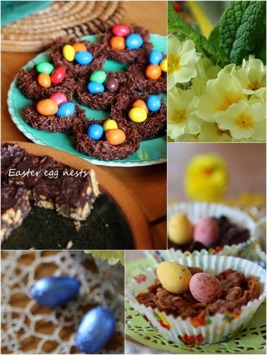 チョコレート尽くしのエッグネストは子供たちの大好きな味☆