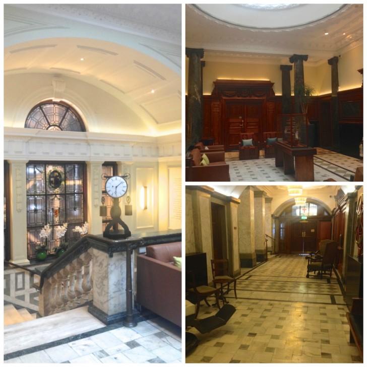 lounge and corridor
