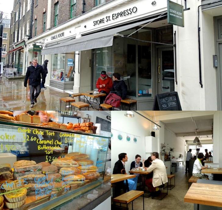 ロンドン大学の学生さんにいっぱい会えるカフェw