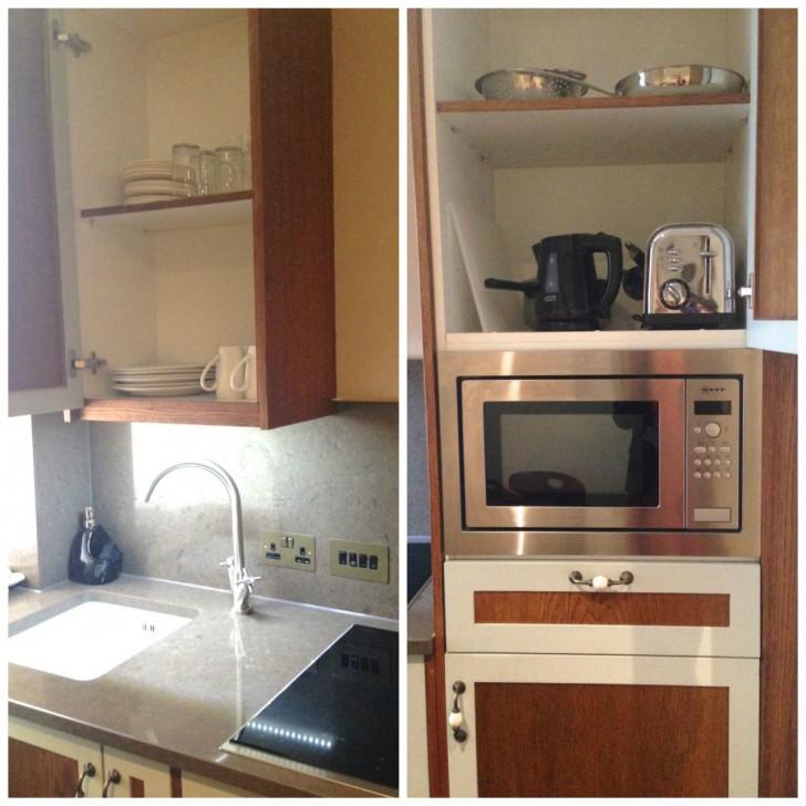 キッチン付きの部屋で長期滞在者も自宅にいるような快適さ