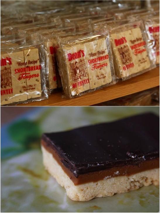 キャラメルとチョコレートののった「ミリオネアショートブレッド」は確かに百万長者的なリッチな甘さ☆