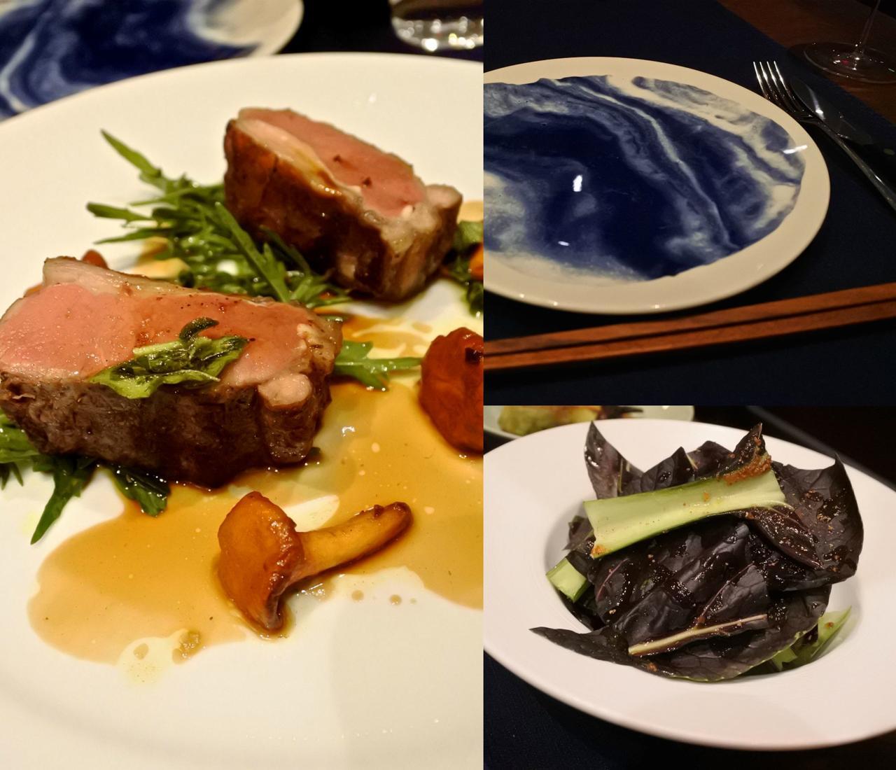 ラム肉は飽きがこない美味しさ☆ 取り皿にグッと来た!