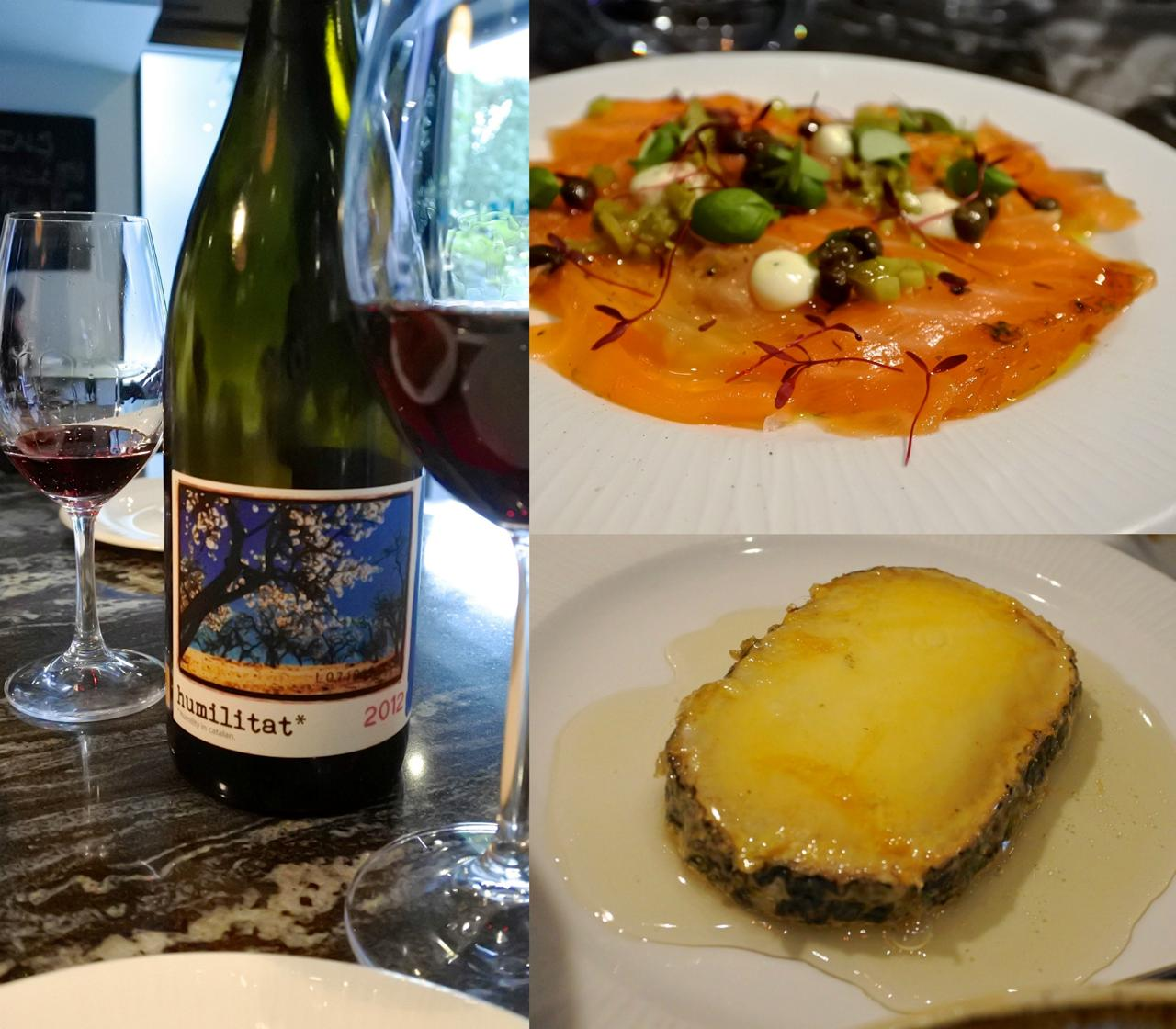 スペイン産ワイン・リストが大充実。このワイン、ものすごく美味しかったです