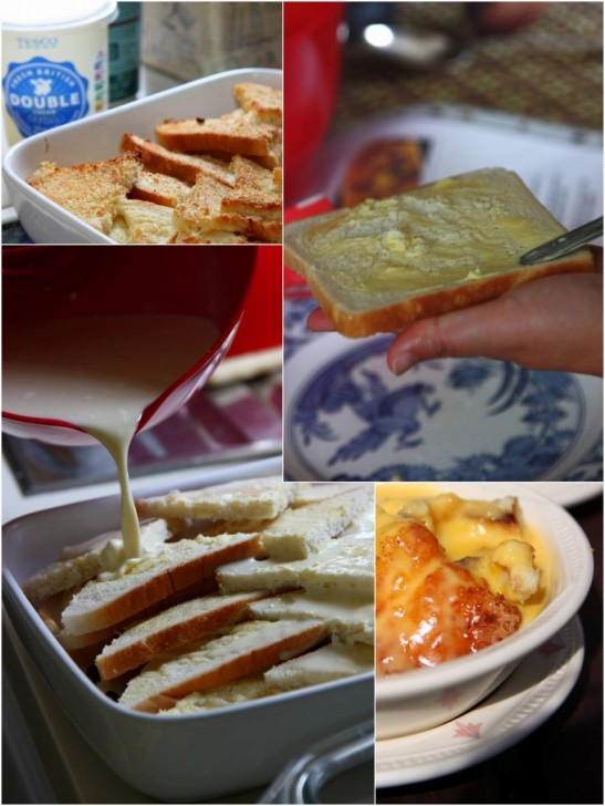 バターを塗った面を上に向けて並べれば焼き上がりが香ばしく☆