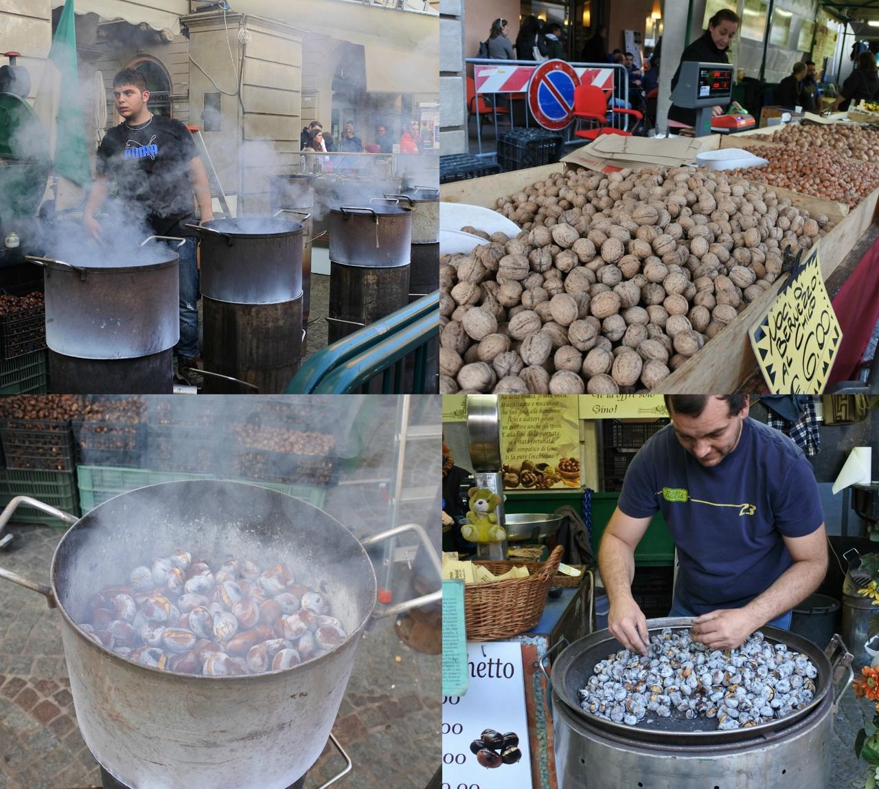 ヨーロッパでは炒り栗のストールはよくありますが、アルバにも炒り方の伝統があるみたい