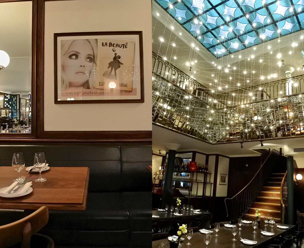 アッパーレベルのレストランはこれまた落ちついた雰囲気☆ ビジネス会食にぴったりです