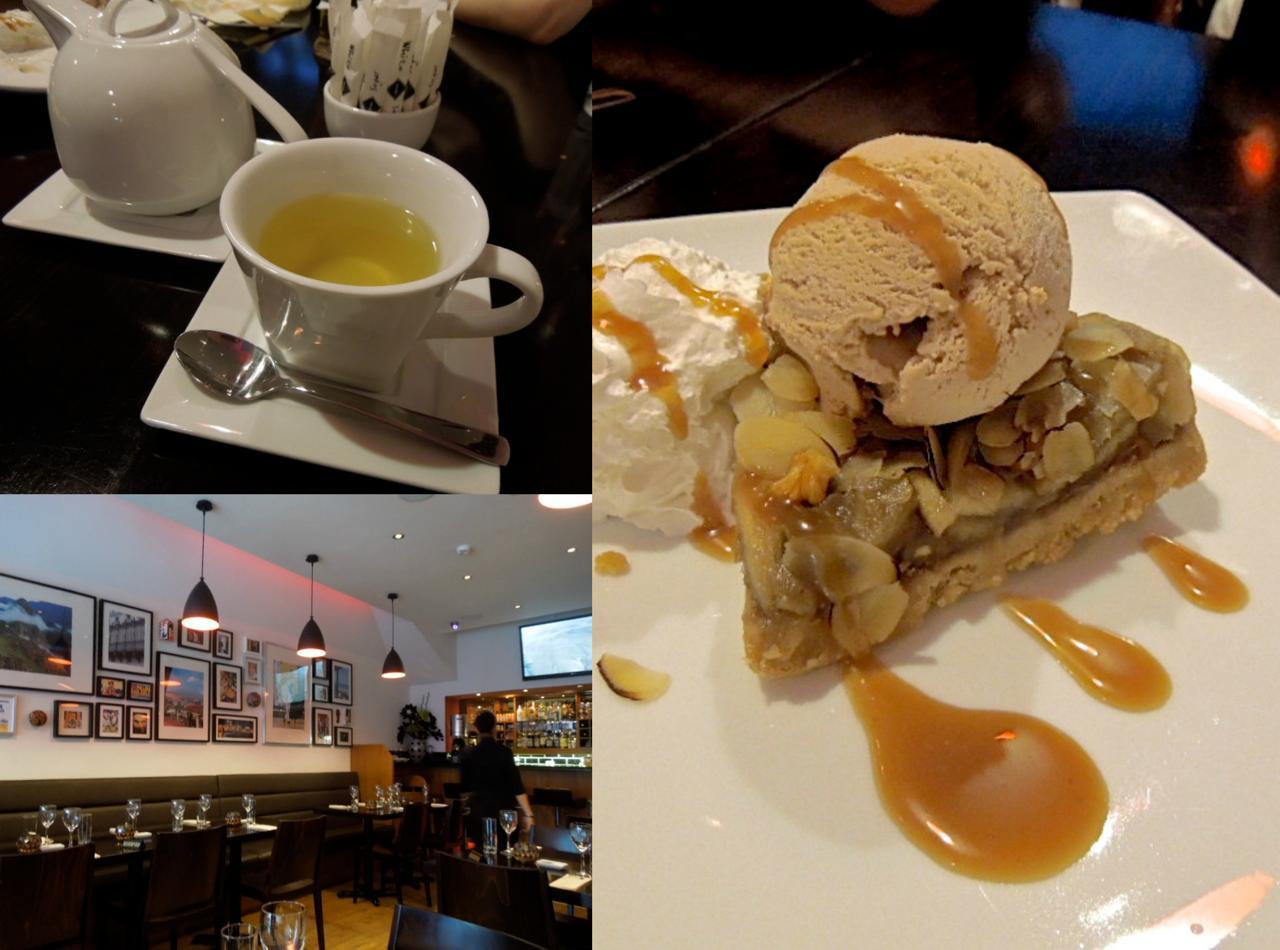 デザート類は最新メニューをお試しあれ☆この写真のデザートはもうないかも〜。左上はコカのお茶