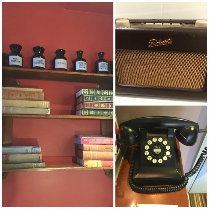 レトロ電話ラジオ