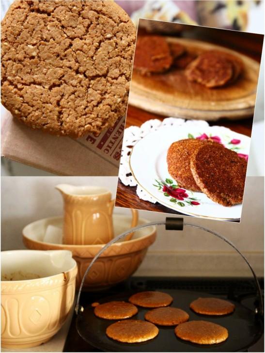 オーブンで焼くビスケットタイプとグリドルで焼くドロップスコーンタイプのパーキン☆