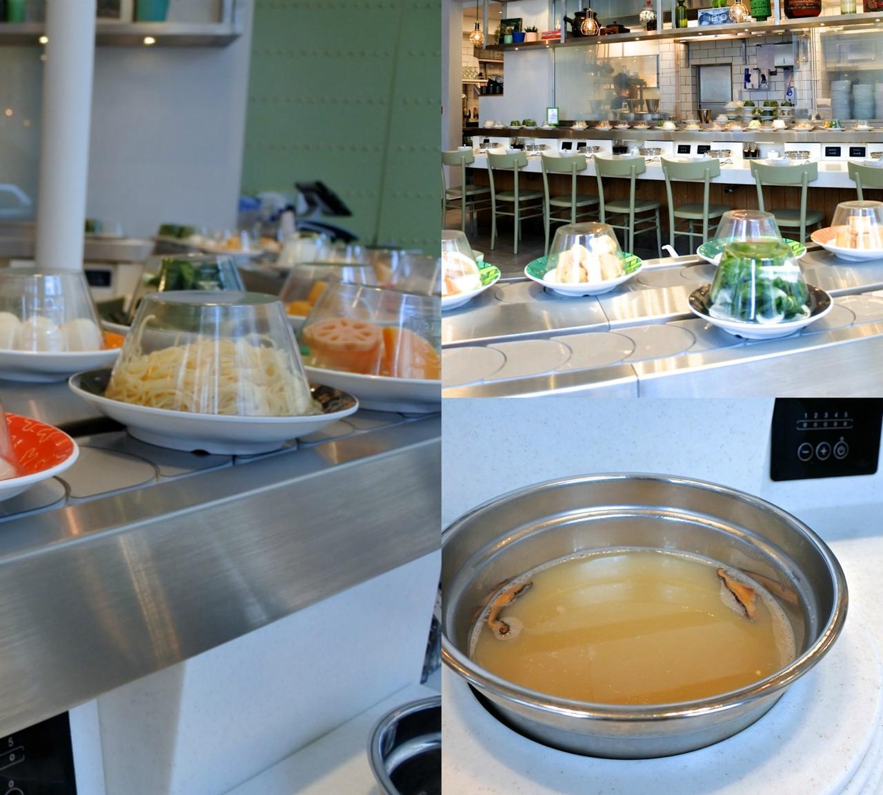 お野菜出汁、なかなか美味しかったです。麺の種類がどのくらいあるのか知らず、目の前にすぐにやってきた卵麺をチョイス! フォーもよかったかな、なんて・・・