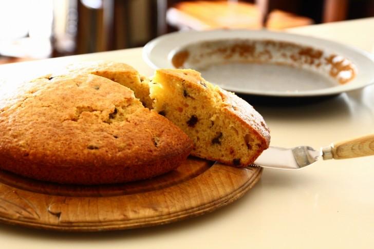 パイ皿をお皿で焼くのなら、ケーキだって焼けるはず☆