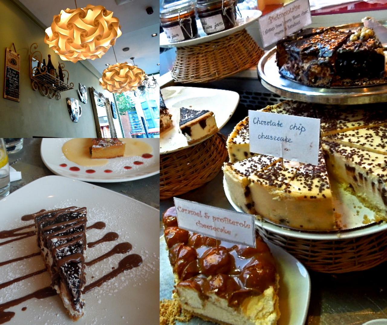 ケーキの種類は多いので必ずや好みのものが見つかるであろう