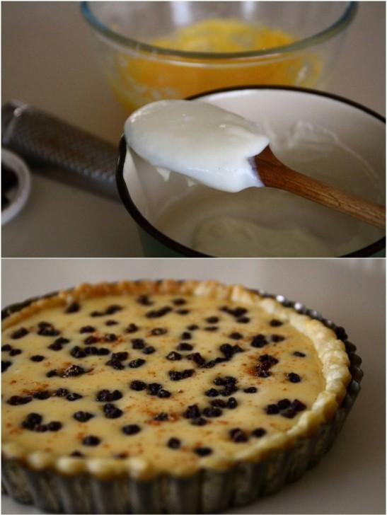 米粉+牛乳+卵=なぜかチーズケーキ風に ??