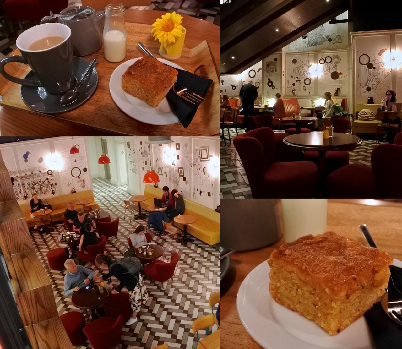 レモン&ローズマリー・オリーブオイル・ケーキ、甘さ控えめで美味しかったですよ ^^   ローズマリーの香りはあまりしなかったけど