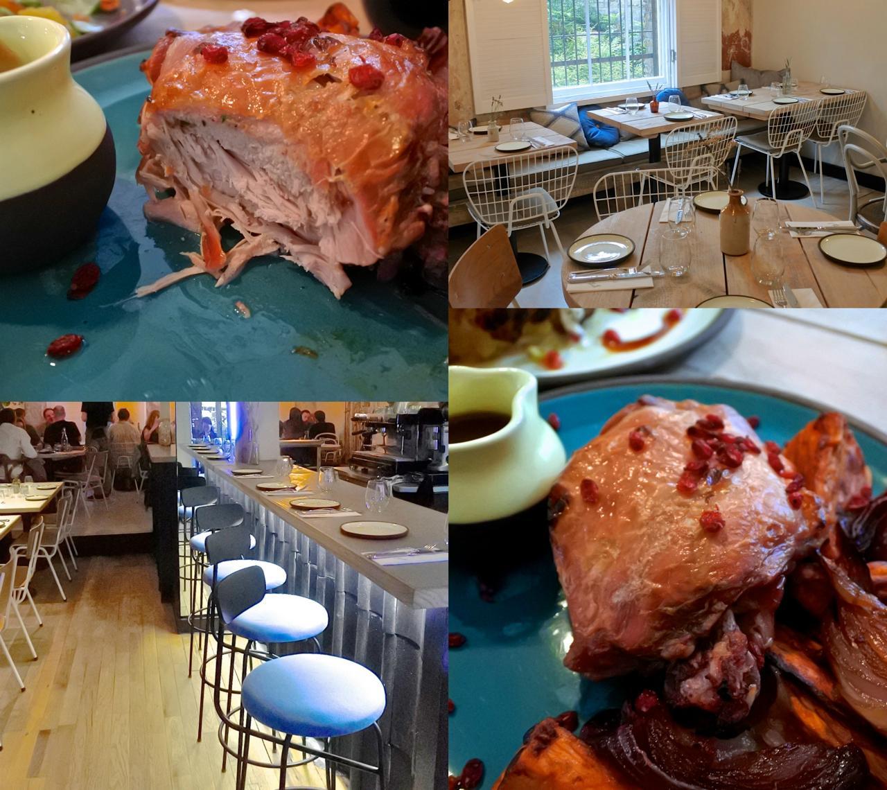 これはスロークックしたもも肉だったと思うのですが・・・肉がとっても柔らかなのです。美味しかった☆