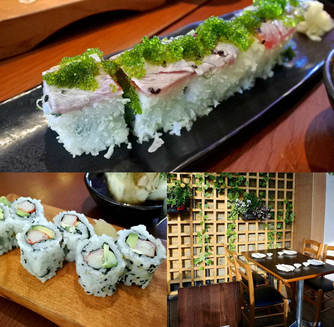 こういう変わり寿司って食べ応えがあり、テクスチャーの組み合わせも新鮮で好きです ^^