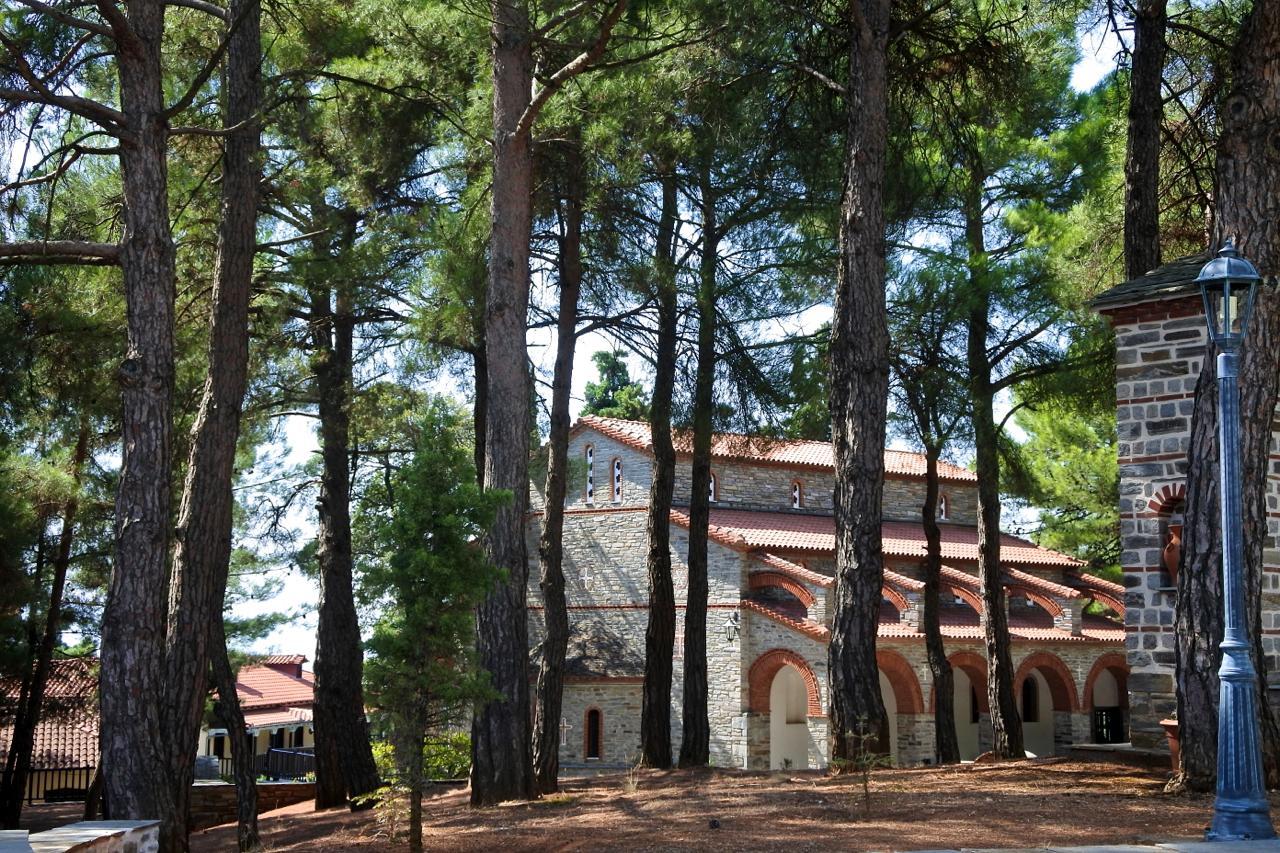 セレスのPanagia Myrtidiotissa修道院