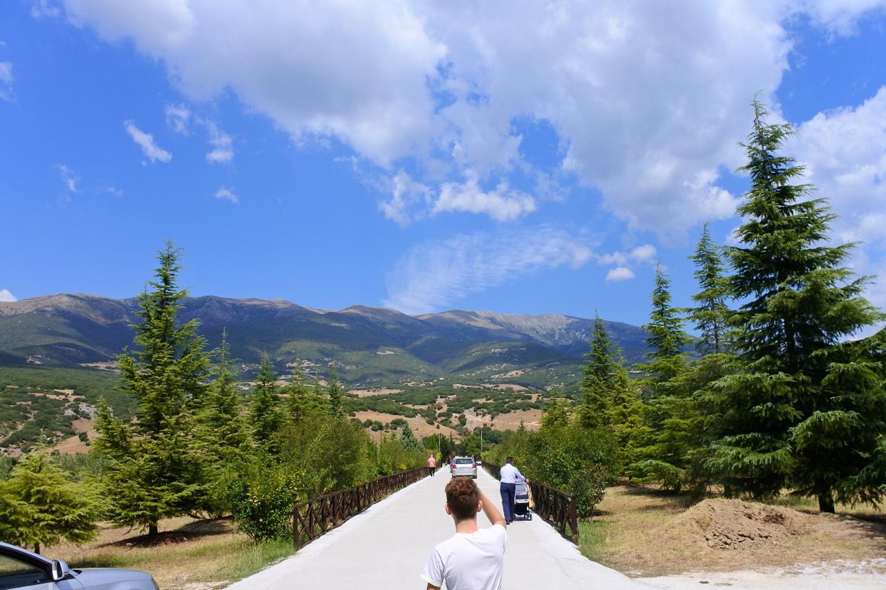 小高い丘の上にあるギリシャの修道院・・・こんなところ、滅多に来れないわ〜。快晴のセレス。ありがとう! が、実はこの翌日、セレスにあるもう一つの超神秘的な修道院に連れていってもらったのです。。その模様は後日。きゅいーん。