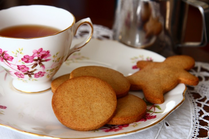 ormskirk gingerbread は飽きのこない、優しい味のジンジャーブレッド☆
