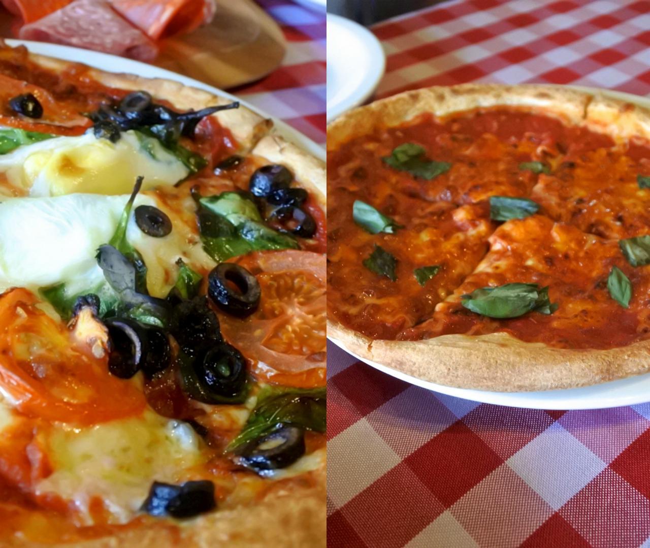 なかなか美味しいピザでしたよ ^^