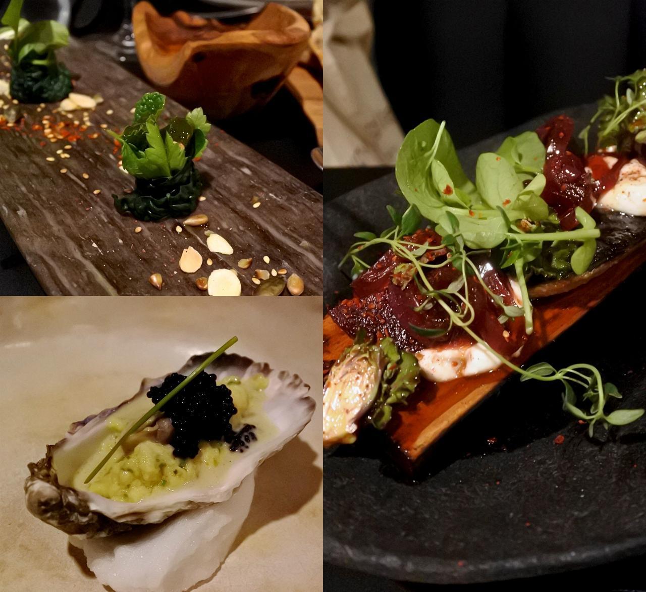 せっかくのサービスの牡蠣でしたが、いかにも西洋風の調理法でソースがいっぱい。牡蠣のお味が隠れてしまって残念でした