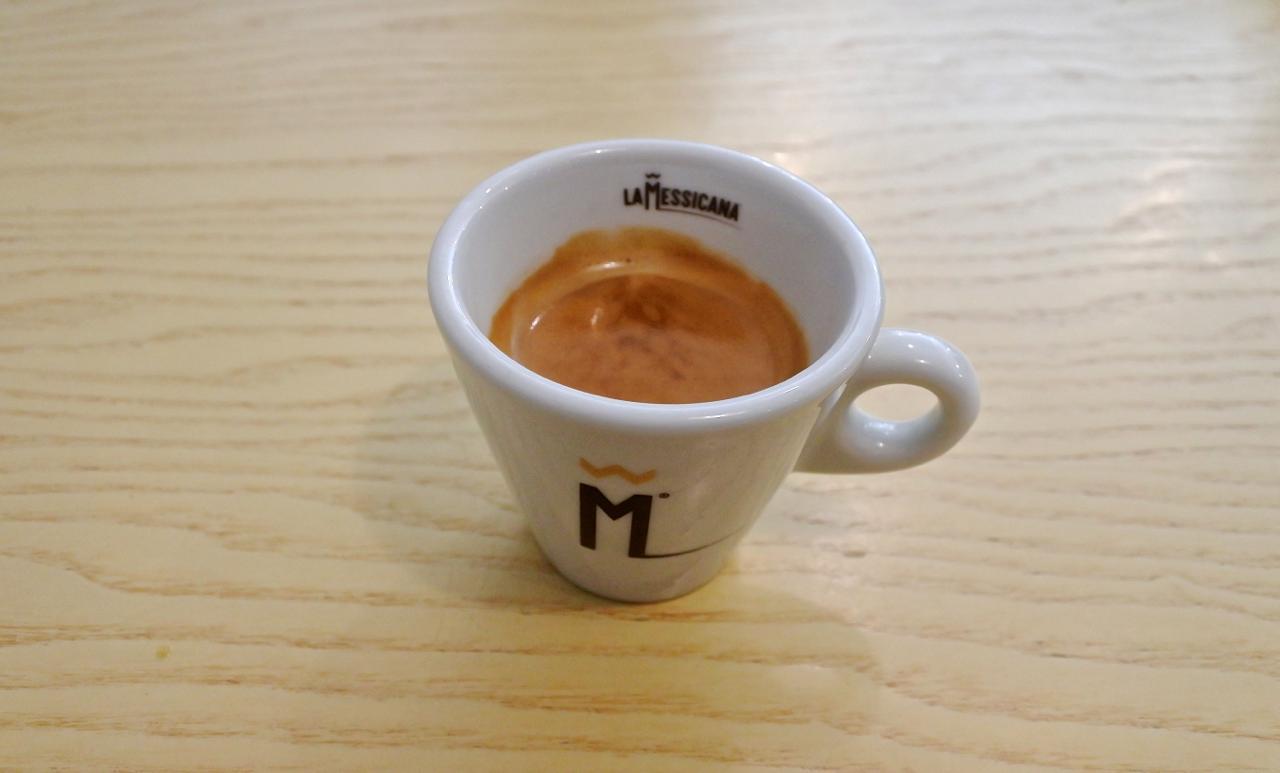 コーヒーはエスプレッソしかないって ^^