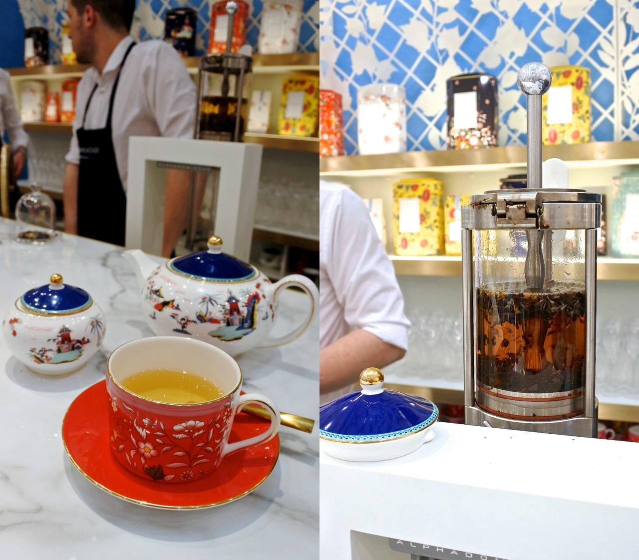 シャネルの5番にインスパイアされたロココ・フラワーズ!(左)。お茶を最適環境で淹れるティー・メーカーに目が釘付け