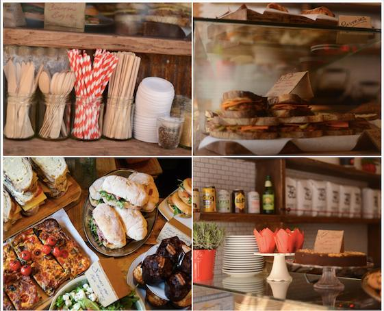 From http://www.brickwoodlondon.com 食べものの写真を全然撮らなかったので、お店のウェブサイトから拝借。食べものは美味しそうです。