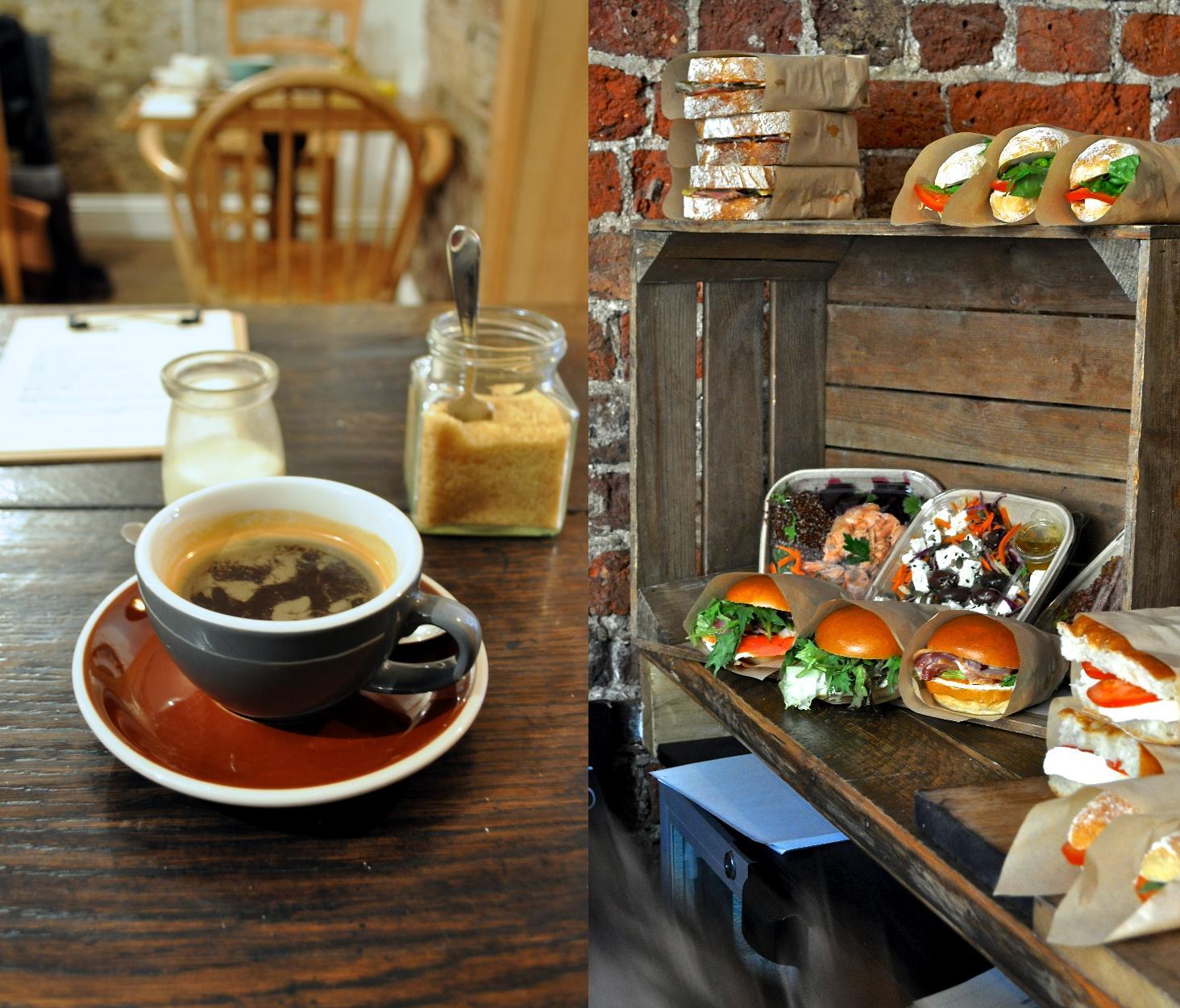 ランチ用のサンドイッチやサラダ類は、正午前にクオリティ・サプライヤーから」配達されてきます。