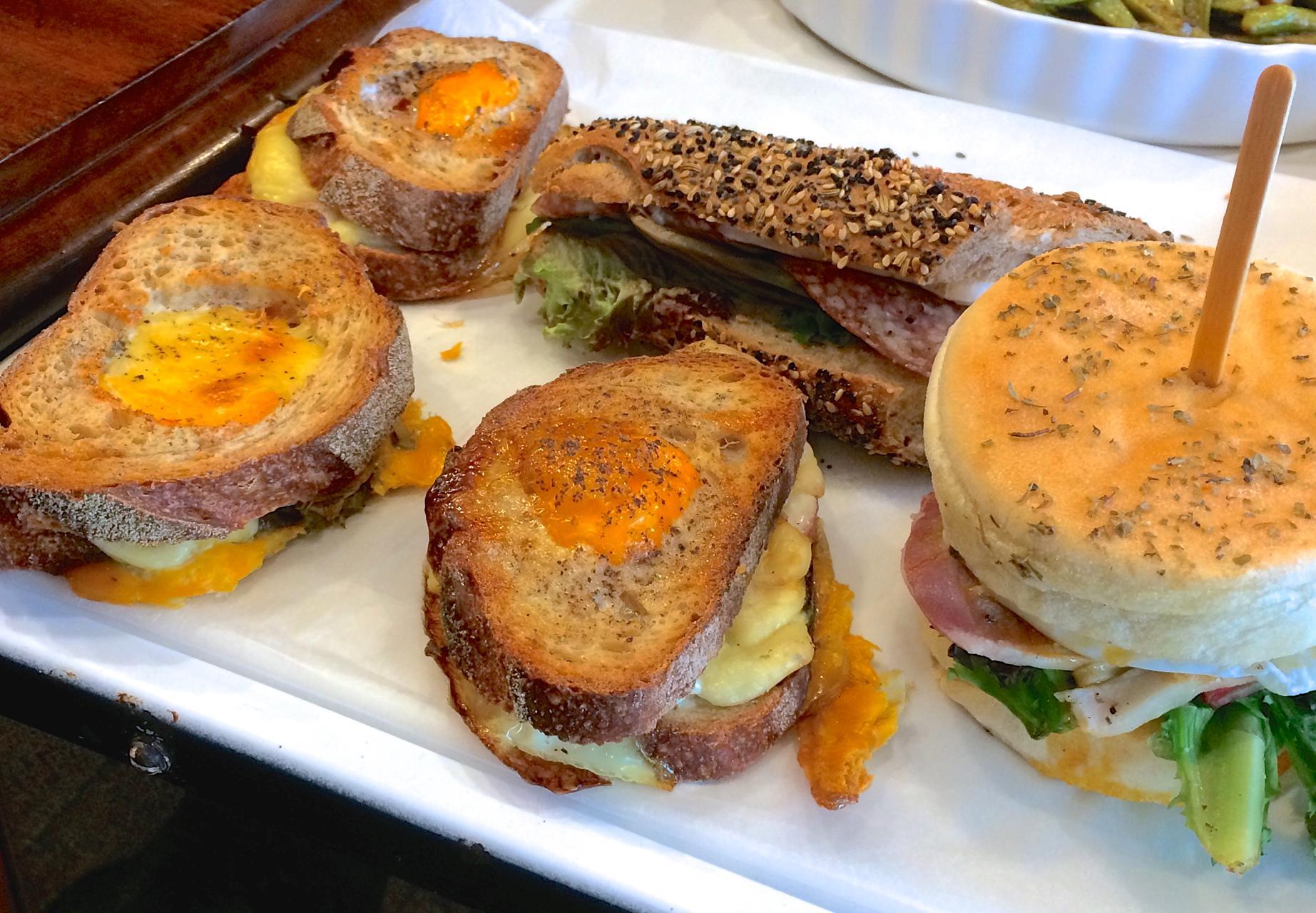 サンドイッチ各種♪ 携帯写真