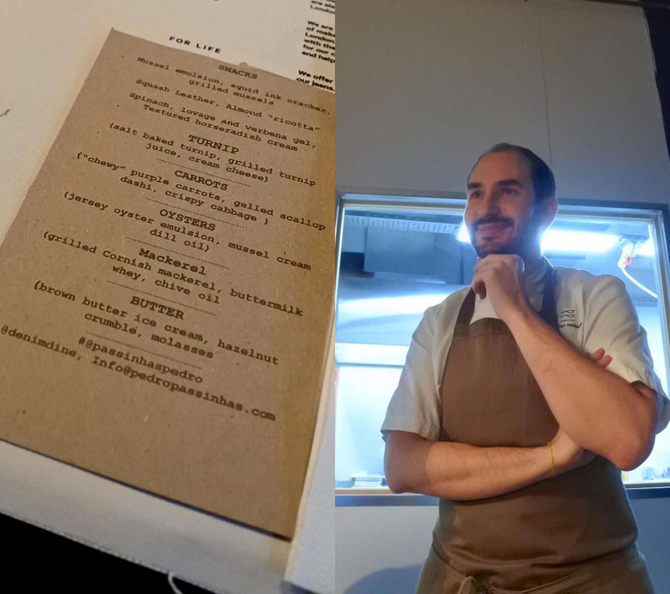 シェフのペドロさん!  すごくクリエイティブな方。料理もすごい。ただし日本人には少し塩がきつめかもしれないので、もしも彼にコンタクトして料理を作ってもらうなら、「塩控え目で」とお願いしてみるといいかも ^^