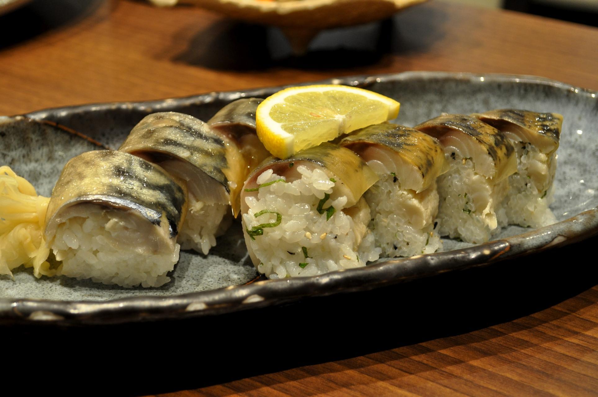 美しい松前寿司♪