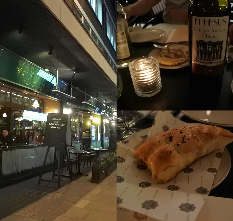 ベイカー・ストリート沿いの分かりやすいロケーション♪ 右下のトルコ・パン! 美味しかったです