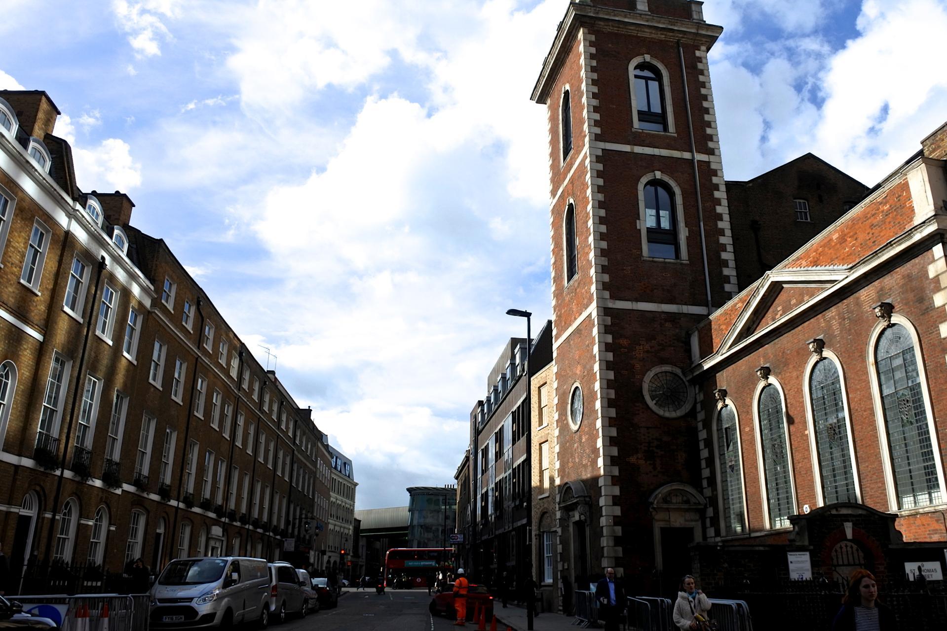 元セント・トーマス病院の一部だった建物