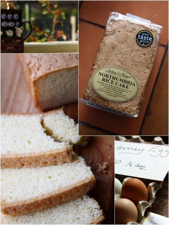 「ノーサンブリアライスケーキ」旅先で地方菓子をさがしてみましょう☆