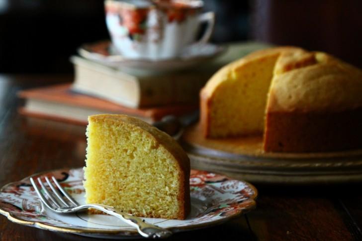 仄かにレモンの香るシンプルながらも美味しいライスケーキ☆