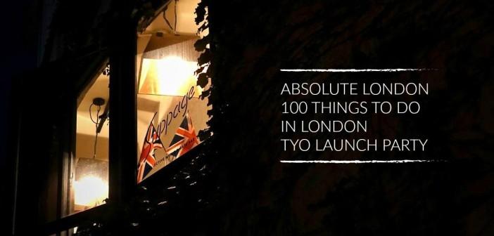 『ロンドンでしたい100のこと』出版記念会 in Tokyo、レポート!