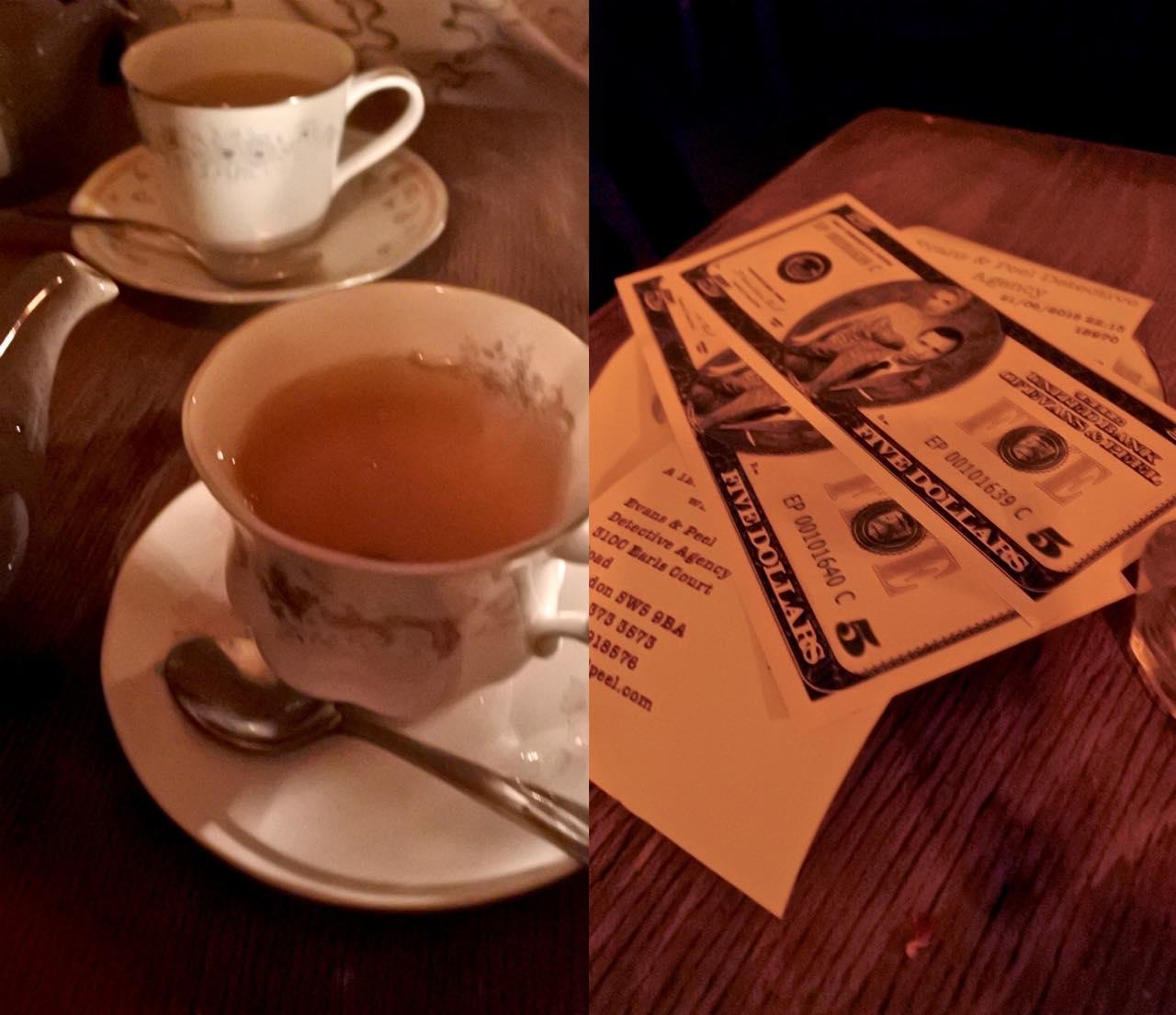 お茶はもちろんヴィンテージ・カップで