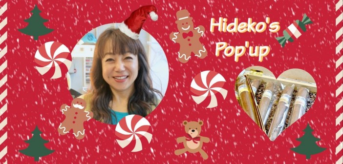 甘いギフトを♡川秀子 クリスマス・ポップアップ! → 12月14日・15日