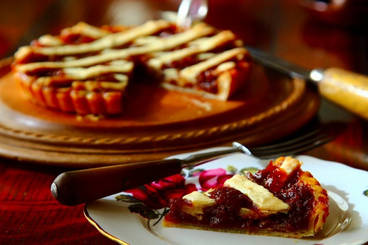 リヴァプールタルトは甘くて、ほのかに酸っぱい濃厚なお味☆